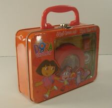 Nick Jr Dora The Explorer Time Teacher Watch & Clock Gift Set w/ Lesson Booklet