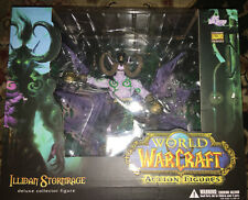 World of Warcraft - Illidan Stormrage Deluxe Collector Figure-New