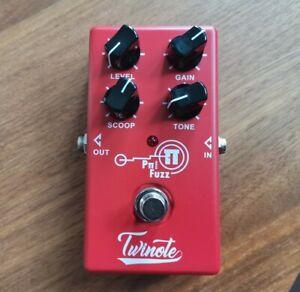 Twinote Pπ Pi Fuzz Guitar Effects Pedal