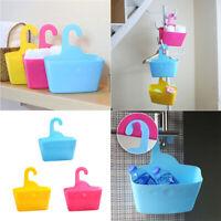 Multi-layer Hanging Shower Basket Bathroom Caddy Basket Plastic Organizer Rack S
