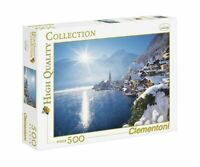 Puzzle Village montagne Hallstatt Autriche; 500 pièces Clementoni 30349