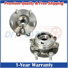 Pair: 2 New Front Wheel Hub & Bearing LH and RH for G35 G37X EX35 M35 AWD ABS