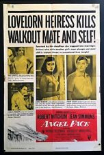 Angel Face Original Movie Poster Jean Simmons Robert Mitchum *Hollywood Posters*