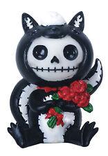 Furry Bones ODO the Skunk Figurine, Skeleton in Costume, NIB
