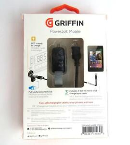 Griffin Ultra-Compact Car Charger + 3' Cable Micro USB Samsung LG Motorola HTC
