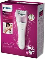 Philips Satinelle Advanced BRE630 Wet & Dry Epilator with 5 Accessories NEW!