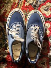 Rare 1980 Vintag 00006000 e Nos Vans Shoes Made in Usa Two Tone Off The Wall Skate Era #95