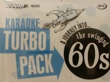 KARAOKE CDG TURBO PACK 132 GOLDEN HITS FROM 60s (set 1 a 5)