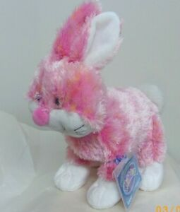 Cheeky Bunny full size 9in Webkinz plush pet with sealed unused code new HM706
