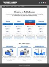 TRAFFIC RESELLER WEBSITE - 100% Autopilot & Newbie Friendly - Free Installation