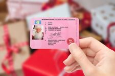 Santa Claus Lost Driving/Sleigh Licence