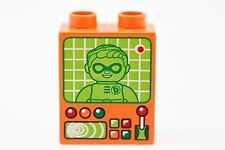 LEGO DUPLO Orange Brick of Robin Boy Wonder Dick Grayson Damian Wayne TV