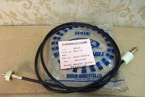NOS DATSUN PATROL Mk2 160 P40 SD33 MQ C80 1972-73 RHD SPEEDOMETER CABLE EM-0741
