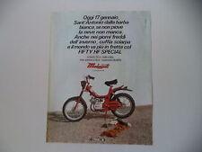 advertising Pubblicità 1979 MALAGUTI FIFTY HF SPECIAL 50