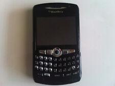 BlackBerry 8310 - Noir - Etat Correct - SFR - Azerty - Reconditionné en France
