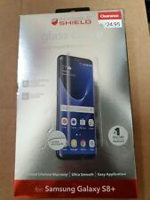 ZAGG InvisibleShield Glass Curve Screen Protector for Samsung Galaxy S8+