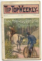 Tip Top Weekly May 1, 1897 - #55, Frank Merriwell's Great Capture - Dime Novel