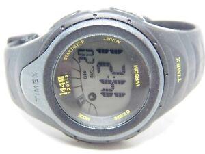 Timex 1440 Sports Indiglo Black Tone Quartz Digital Ladies Watch