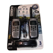 BRAND NEW Uniden GMR5089-2CKHS, 22 Channel FRS Two-Way Radio Waterproof