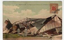 MAYOTTE: 1910s picture postcard of Cyclone damage (C37396)