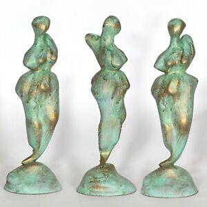 "sculpture unique ""Nymph"" 25cm Andreas Loeschner-Gornau"