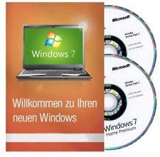 Windows 7 Home Premium Product Key & Hologramm DVD Vollver. 32/64 Bit Englisch