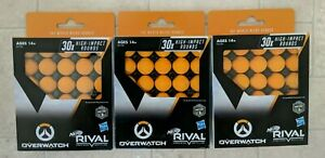 Nerf Rival OVERWATCH bullets 90 total NEW IN BOX FREE SHIPPING
