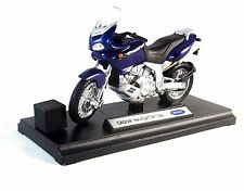CAGIVA NAVIGATOR 1000 ,BLUE WELLY 1/18 DIECAST MOTORCYCLE COLLECTOR'S MODEL,NEW