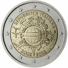 Italie 2012 - commémo 2eur- Dix Ans de l'euro— UNC