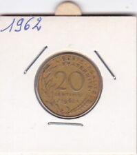 R) pieces de 20 cent francais 1962