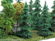 "20 FIR TREES All 4"" Model Trees War Gaming & N HO Model Railroad Layout Scenery"