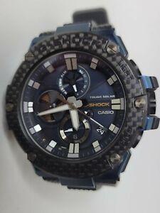 Casio G-Shock G-Steel Blue Black GSTB100XB-2A Tough Solar Sapphire Crystal