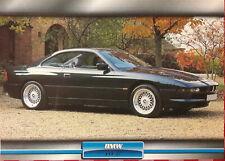 Poster  papier  cartonné  205 x 285 mm Auto  BMW 840 CI