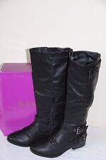 NEW Rampage IDOLA  Women's Black Winter Knee High Boots Shoes Size 6 M H6223B