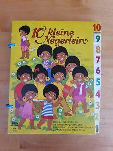 Zehn 10 kleine Negerlein Bilderbuchverlag Otto Moravec 6000 Wien sehr selten