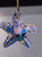 30mm Swarovski AB Crystal Starfish Prism  Suncatcher Now Retired! Sparkles!