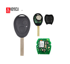 2B 433MHz Remote Key FOB Virgin Chip PCF7930AS for BMW Mini Land Rover 75 MG ZT
