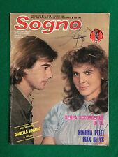Fotoromanzo Lancio SOGNO 1982 n.15 ,MAX DELYS S.PELEI con Poster ORNELLA PACELLI