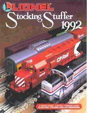 1992 LIONEL TRAINS  STOCKING STUFFER CATALOG MINT
