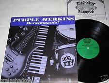 PURPLE MERKINS merkinmania LP Psych-Out Rec. ITALY 1997 ltd. 500 Copies GARAGE
