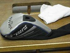 Adams Speedline Fast 12 Driver Headcover Blue/Black/Silver OK Shape!!
