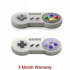 2 x 8BITDO SNES30 Bluetooth Wireless Controller GamePad For iOS Android PC