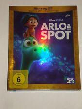 Arlo & Spot 3D und 2D  Neu Blu Ray 2 Disc Edition  im Schuber Arlo und Spot