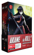 Akame Ga Kill - Part 1 (Limited Edition Combo) Blu-ray Region B &