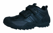 Sneakers Geox Black Savage Leather Sneakers/Shoes  Little Boys Size 11
