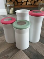 Pink Coffee Jars Ebay
