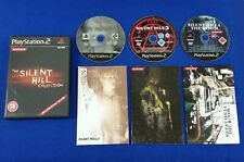 ps2 SILENT HILL COLLECTION 2 + 3 + 4 The Room Playstation PAL UK Versions
