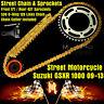 Motorcycle 530 Chain Front Rear Sprockets For Suzuki GSXR 1000 2009 2010 2011
