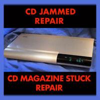 REPAIR SERVICE - CD Stuck Bose Music Center 20 CD Player Changer Lifestyle 25 30