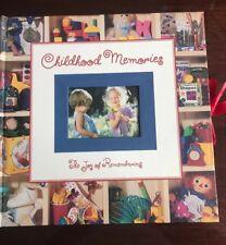 Childhood Memories The Joy of Remembering Photos Album Scrapbook Journaling Book